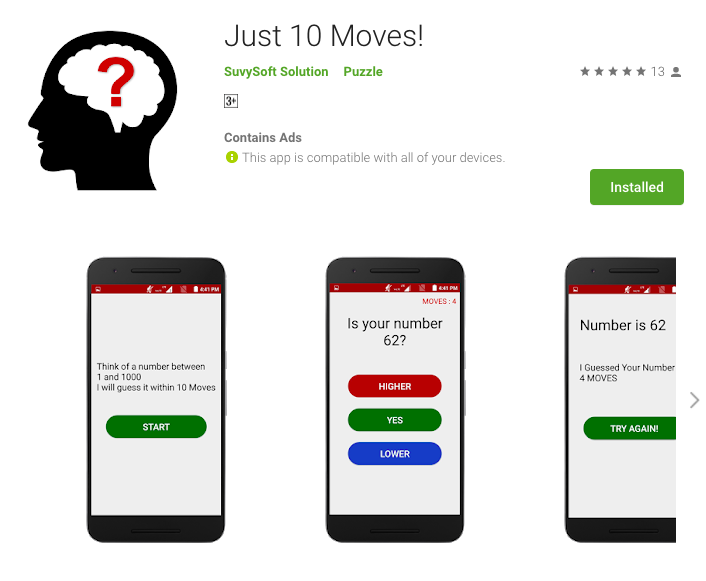 Just 10 Moves!